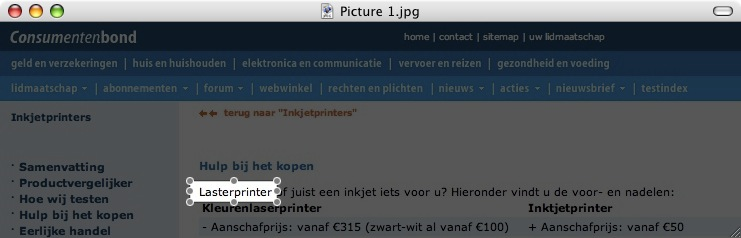 lasterprinter?